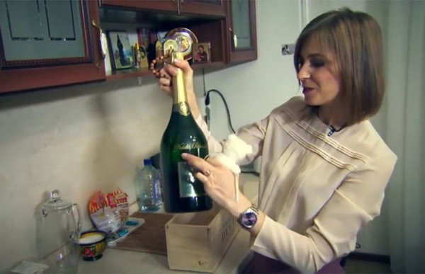 Поклонская впервые показала свою московскую квартиру