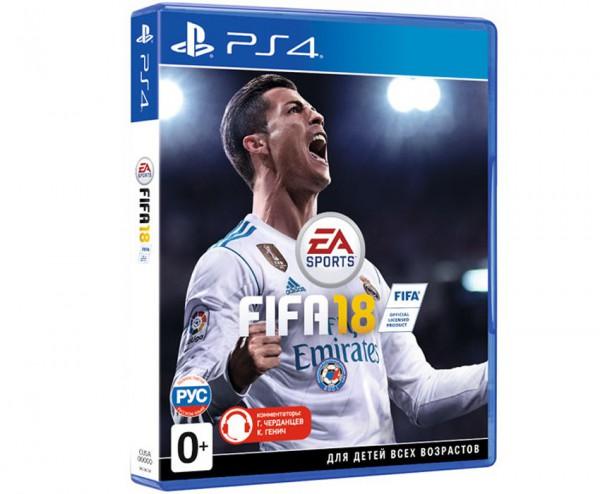 Игра для PS4 FIFA 18 [PS4, русская версия]